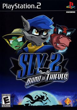 Box artwork for Sly 2: Band of Thieves.