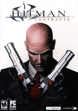 Box artwork for Hitman: Contracts.