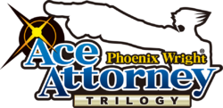 Box artwork for Phoenix Wright: Ace Attorney Trilogy.