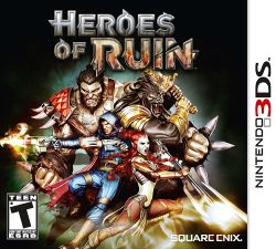 Box artwork for Heroes of Ruin.