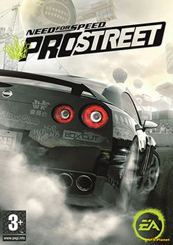 Box artwork for Need for Speed: ProStreet.