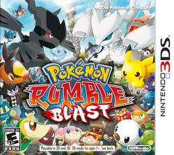 Box artwork for Pokemon Rumble Blast.