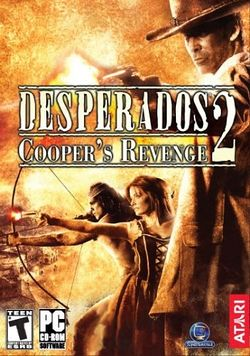 Box artwork for Desperados 2: Cooper's Revenge.