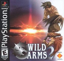 Box artwork for Wild Arms 2.