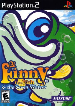 Box artwork for Finny The Fish & The Seven Waters.
