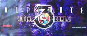Ultimate Mortal Kombat 3 marquee
