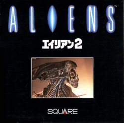 Box artwork for Aliens.