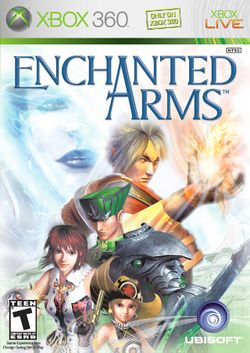 Box artwork for Enchanted Arms.