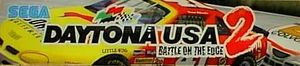 Daytona USA 2: Battle on the Edge marquee