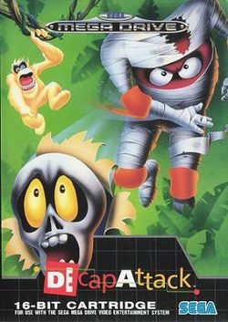 Box artwork for Decap Attack.