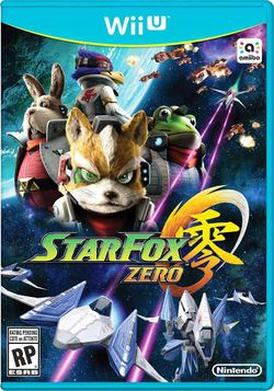 Box artwork for Star Fox Zero.