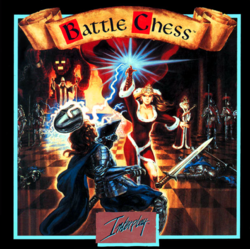 Box artwork for Battle Chess.