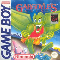 Box artwork for Gargoyle's Quest.