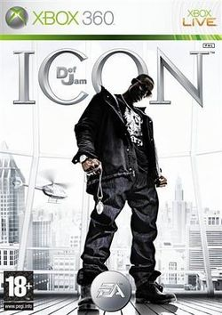 Box artwork for Def Jam: Icon.