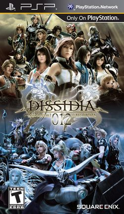 Box artwork for Dissidia 012 [duodecim] Final Fantasy.