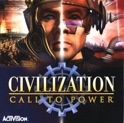 Box artwork for Civilization: Call to Power.