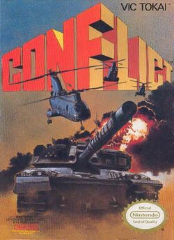 Box artwork for Conflict.