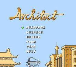 Box artwork for Architect.