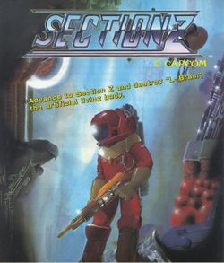 Box artwork for Section Z.