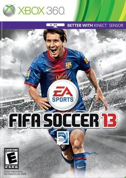 Box artwork for FIFA 13.