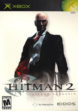 Box artwork for Hitman 2: Silent Assassin.