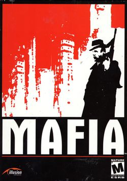 Box artwork for Mafia: The City of Lost Heaven.