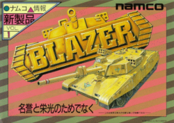 Box artwork for Blazer.