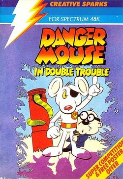 Box artwork for Danger Mouse in Double Trouble.
