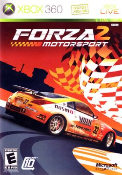 Box artwork for Forza Motorsport 2.