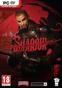Box artwork for Shadow Warrior (2013).