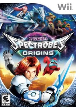 Box artwork for Spectrobes: Origins.