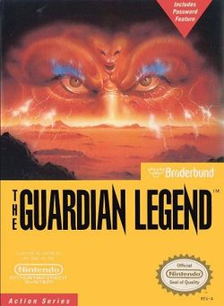 Box artwork for The Guardian Legend.