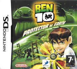 Box artwork for Ben 10: Protector of Earth.