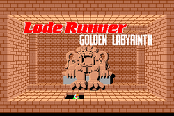 Box artwork for Lode Runner III - The Golden Labyrinth.
