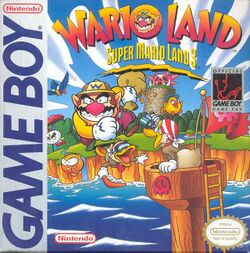Box artwork for Wario Land: Super Mario Land 3.