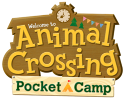 Box artwork for Animal Crossing: Pocket Camp.