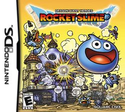 Box artwork for Dragon Quest Heroes: Rocket Slime.