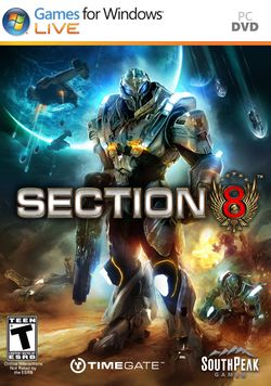 Box artwork for Section 8.