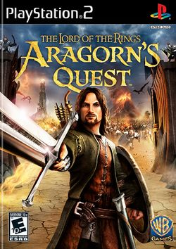 Box artwork for The Lord of the Rings: Aragorn's Quest.