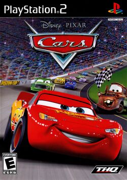 Box artwork for Cars.