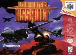 Box artwork for Aero Fighters Assault.
