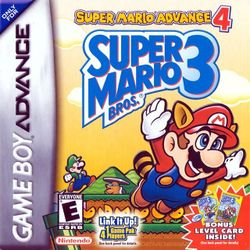 Box artwork for Super Mario Advance 4: Super Mario Bros. 3.