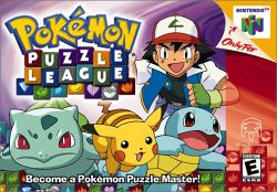 Box artwork for Pokémon Puzzle League.