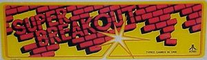 Super Breakout marquee