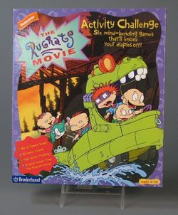 Box artwork for The Rugrats Movie Activity Challenge.