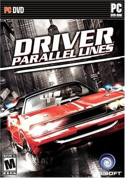 Box artwork for Driver: Parallel Lines.