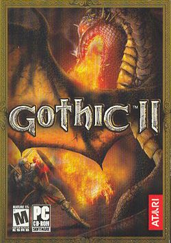 Box artwork for Gothic II.