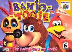 Box artwork for Banjo-Tooie.