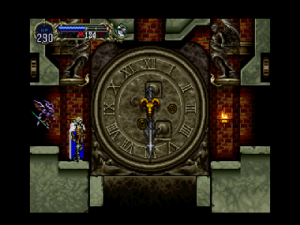 Castlevania Symphony Of The Night Clock Tower Rings