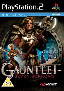 Box artwork for Gauntlet: Seven Sorrows.
